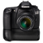 Canon 60D front up bg icon