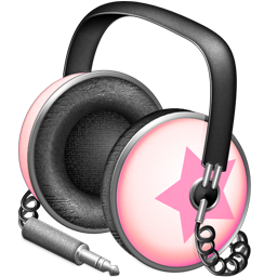 Pinkstar Power headphones
