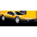 Classic car yellow-128