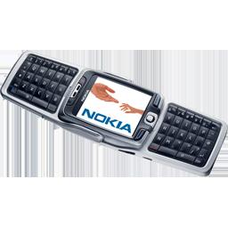 Nokia E70 open