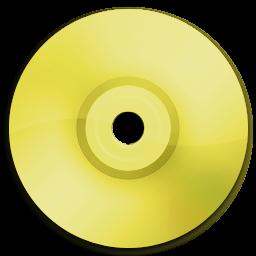 Cd DVD Yellow