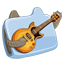Funny Music Folder icon