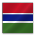 The Gambia Flag-128