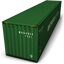 Green Container Icon