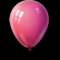 Ballon magenta