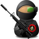 Sniper Soldier with Weapon-128