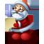 Santa Claus reading-64