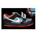 Nike Dunk Black & Blue-128
