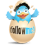 Twitter Break The Egg Icon