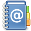Gnome X Office Address Book Icon