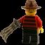 Lego Freddy Krueger icon