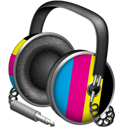 CMYK headphones
