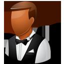 Waiter Male Dark-128
