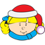 Christmas kid Icon