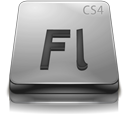 Adobe Flash CS4 Gray-128
