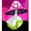 Pink Mushroom Icon