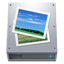 HDD Pictures Icon
