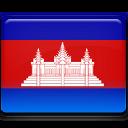 Cambodia Flag-128