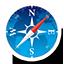 Round Navigator icon