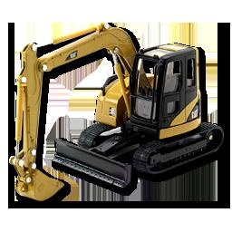 CR Excavator CAT