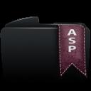 Folder black asp-128