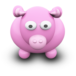 Pink Cow Icon Download We Love Cows Icons Iconspedia
