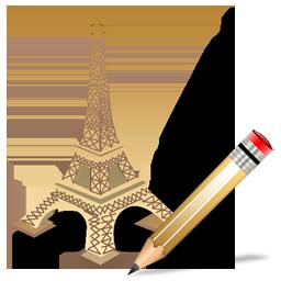 Eiffel Tower Write