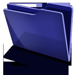 TFolder Blue