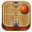 Basketball wooden-32