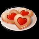 Cookies Hearts-128