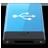 HDD Blue USB W-48