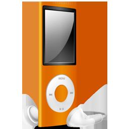 iPod Nano orange off