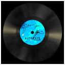 Vinyl blue-128