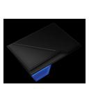 Empty Folder Blue-128