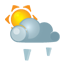 Sun darkcloud heavygrain Icon