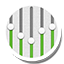 Round Equalizer Icon