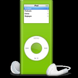 iPod nano vert