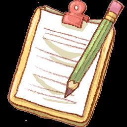 Notepad Yellow Pencil
