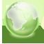 Earth green Icon