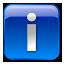 Info box blue icon
