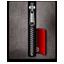Blank silver black icon