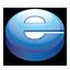 Internet Explorer puck Icon