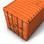 Container Orange icon