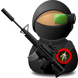 Sniper Soldier with Weapon