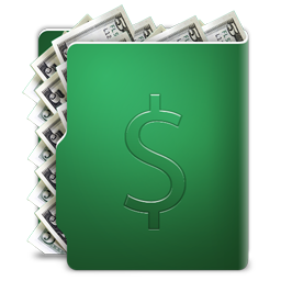 Dollars folder
