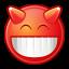 Gnome Face Devilish icon