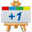 Google Plus One Canavas-32