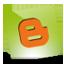 Blogger green hover icon
