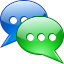 Chat toolbar icon