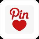 Square Pin Love-128